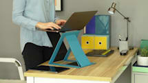 新一代 MOFT Z 进行众筹,居家办公也能有站立式电脑桌