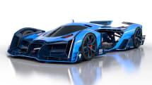 これが2050年のル・マン24時間レースカー!? ブガッティの学生インターンがデザイン