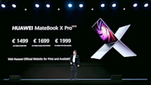 ファーウェイ、驚きの「ノートPC全モデル一挙更新」海外発表。元祖「ほぼ画面」なMateBook X Proも