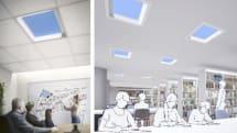 三菱電機、青空照明を68万円で発売。空が青い仕組みを再現