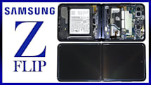 YouTuberが縦折りスマホ「Galaxy Z Flip」を分解、構造はFoldよりシンプル