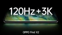 120Hz+3Kで高速・高解像度を両立。OPPOが新旗艦スマホFind X2を公式予告