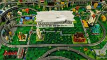 JRがハッピーセットをリサイクルしたナノブロックで「高輪ゲートウェイ駅」を作成