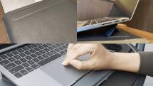 ケース・スタンド・リストレストの3役をこなす『SINEX』をMacBook Proで使ってみた
