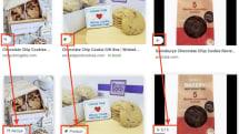桌面版 Google 圖像的初步搜尋結果將會顯示更多類別資訊