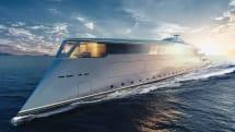 ビル・ゲイツ、環境に優しいスーパーヨット「Sinot Aqua」を発注。水素燃料電池で長距離航行可能
