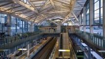 JR高輪ゲートウェイ駅に最新照明、時刻や天候で色温度が変化