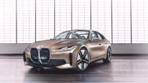 BMW、新型EVを予告する「コンセプトi4」発表。量産モデルの発売は2021年