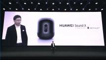 ファーウェイが高級スマートスピーカーSound X発表。40Hz低音と144W出力をデビアレ社コラボで