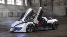 新興EVメーカーのAPEXが電動スポーツカー「AP-0」を発表。ARディスプレイやLiDARも搭載