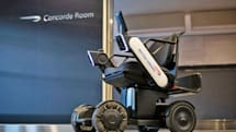 British Airways is testing autonomous electric wheelchairs at JFK
