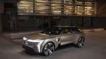 ルノーの新型コンセプトカー「MORPHOZ」は、伸び縮みするボディにバッテリーパックを追加で搭載可能