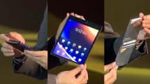 柔宇公佈第三代柔性螢幕,並與 ZTE 達成戰略合作