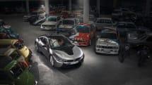 BMWのハイブリッド・スポーツカー「i8」、4月中旬に生産終了。数々の名車との写真を公開