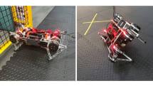 Robotics at Google、ほぼ独学で歩きかたを覚える4足ロボットを開発