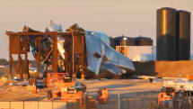 SpaceXのStarship試作機が「離陸」。圧力容器試験中に破裂の衝撃で