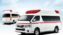 トヨタ救急車の安全装備が充実。カメラやITSも活用して運転手をサポート