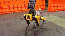 新型コロナ患者の初期評価にiPad付きロボットが活躍。オープンソース化でSpot以外にも適用可能