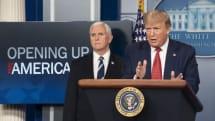 トランプ大統領、コロナウイルス対策に光の体内照射や消毒液の注射を提案 (※ダメです)