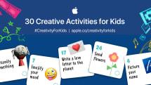 アップル教育チーム、子供がiPhoneやiPadで楽しめる30のアクティビティを提案