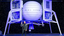 NASAが月着陸船開発にSpaceX、Blue Origin、Dyneticsを選定。2024年にミッション