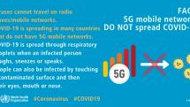 「5Gで新型コロナ拡散」デマ、米で拡大。アンテナ損壊事件増加、キャリアなどに警告