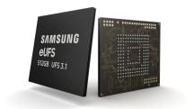 三星开始大规模量产 512GB eUFS 3.1 芯片
