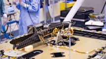 NASA 的火星直升機準備好登上旅程了