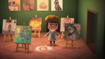 《动森》玩家能在游戏里展示盖蒂博物馆的画作啰