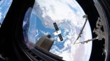 SpaceX Dragon 太空艙返回地球,完成該型號的最後一次任務