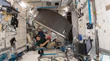 NASA 最後一組的「EXPRESS Rack」模組科研架已抵達國際太空站