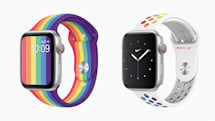 Apple Watch 新增两款 Pride Edition 彩虹表带