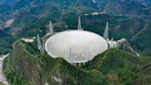 中國「天眼」FAST 望遠鏡將從九月開始搜尋地外文明