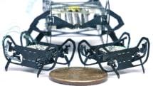 哈佛將其微型機器人縮小到硬幣尺寸