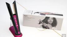 Dyson Corrale 直髮造型器能靠彈性夾板理順妳的秀髮