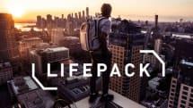 太陽電池搭載の多機能バックパック、LIFEPACK日本版発表。無線スピーカーやUSBバッテリー機能も搭載