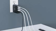 定番の4ポート/42W USB充電器が2399円で。AUKEYが6月22日までセール中