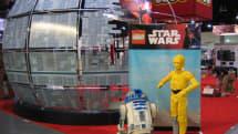 Disney's retelling the 'Star Wars' film saga with Legos