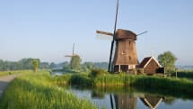 All electric trains in the Netherlands now run on wind energy