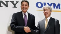Sony sells a chunk of its Olympus stake for a fast buck