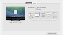 OS X 10.9.3 beta features native Retina resolution for 4K displays, and other news for March 7, 2014