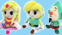 The Legend of Zelda: A link to the plushie