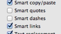 TextEdit smart links for fun and profit