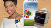 Engadget giveaway: win a Samsung Galaxy S 4 and blinged-out Galaxy Gear courtesy of Brilliance!