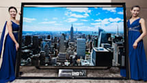 Samsung's 110-inch Ultra HDTV is the world's largest, and it goes on sale Monday