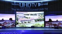 Samsung 78 吋曲面 4K 电视 U9800 香港发布,十万元港币而已