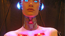 This $6,500 robotic lady should be the only iPhone dock on your holiday wish list