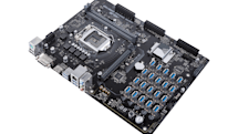 ASUS' latest crypto-mining motherboard can handle 20 GPUs
