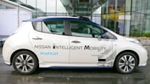 Nissan will test its self-driving taxi service in Japan next year