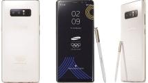 這是 Samsung 為平昌冬奧會參與者準備的限定版 Galaxy Note 8